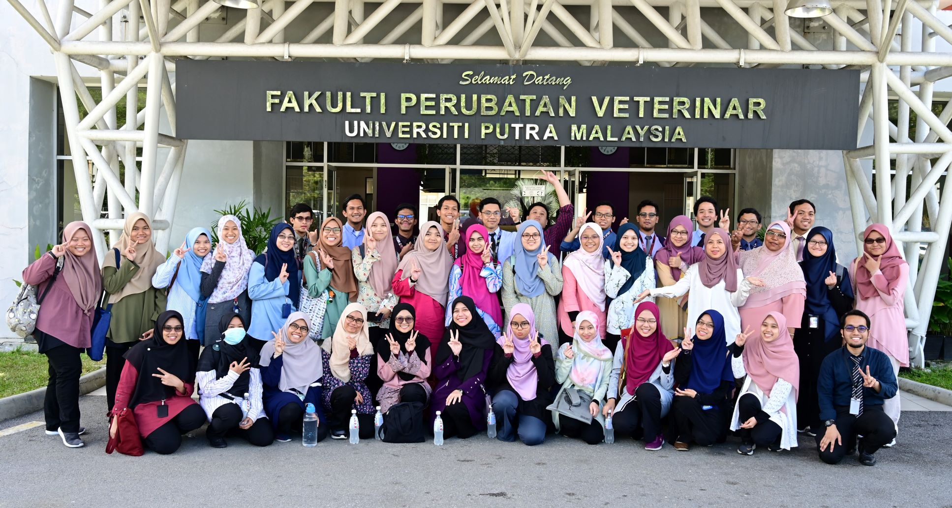 USIM studentts visits Faculty of Veterinary Medicine UPM